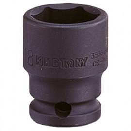 """Douille à choc standard métrique 6 pans 3/8"""" - 13 mm L. 32 mm"""