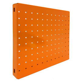 Panneau fond perforé L. 300 x Ht. 300 mm SIMONBOARD PERFORE 300x300 ORANGE - 5016130302 - Simonhome