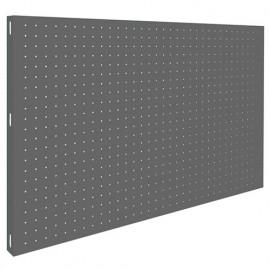 Panneau fond perforé L. 900 x Ht. 600 mm KIT PANELCLICK 900x600 GRIS FONCE - 303100024906001 - Simonwork