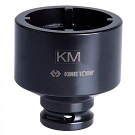 """Douille à choc à ergots intérieurs 1/2"""" pour écrous à encoches - KM5 D. 38 mm L. 60 mm"""