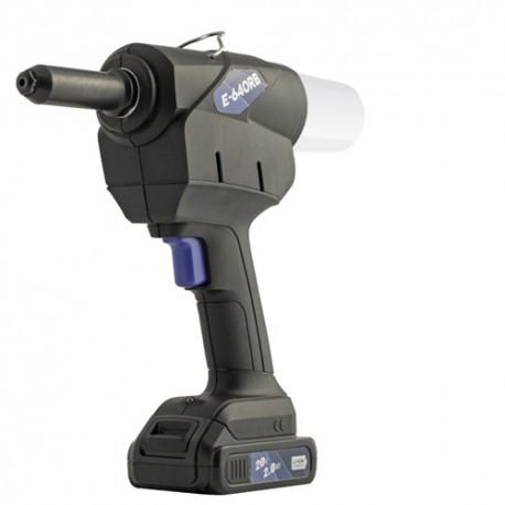 Riveteuse sans fil D. 4 à 6,4 mm avec deux batteries 20 V - SC-E-640RB2 - Scell-it