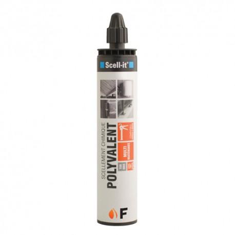 Cartouche de résine polyester 300ml polyvalente - SC-F300 - Scell-it
