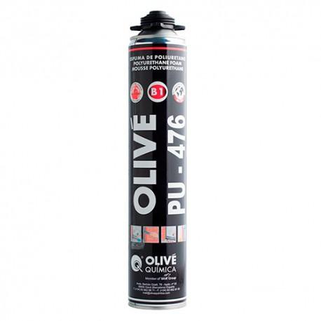 Mousse polyurethane résistante au feu 750 ml Rose (extrusion manuelle) - Scell-it