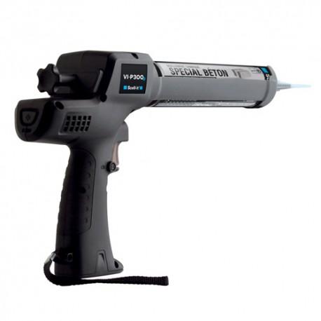 Pistolet d'injection sans fil 310 ml avec 2 batteries - SC-VI-P300B-2 - Scell-it