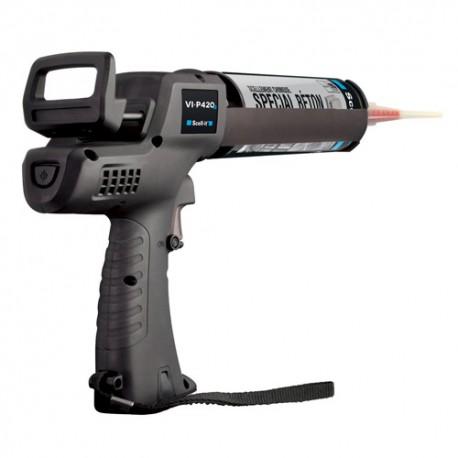 Pistolet d'injection sans fil 420 ml avec 2 batteries - SC-VI-P420B2 - Scell-it