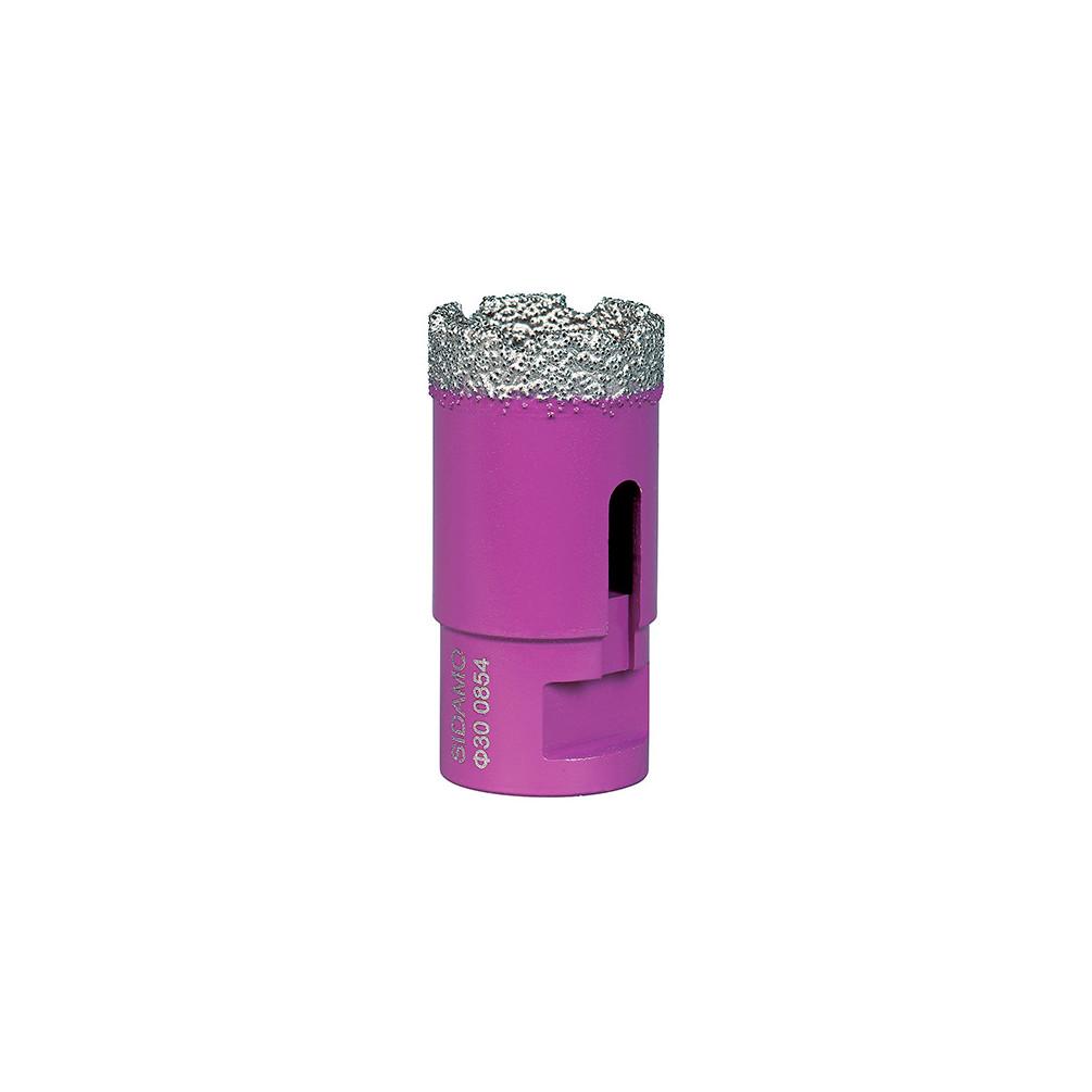 Trepan Diamant A Sec Pour Meuleuse M14 D 30 Mm Lu 35 Mm Ceramique Gres Granit