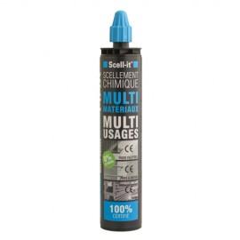 Cartouche de résine vinylester 300ml 100% certifiée - SC-X-MAX300G - Scell-it