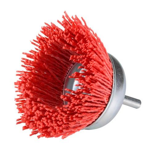 Silverline 220410 Brosse boisseau /à fils de nylon abrasifs