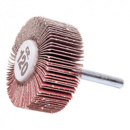 10 roues à lamelles sur tige D.40 x 15 mm Gr 60 A - 10401050 - Sidamo