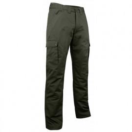 Pantalon cargo doublé polaire déperlant - OURS - Kaki