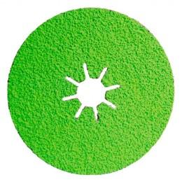 25 disques fibre céramique - D.125 x 22,23 mm Cr 36 Sidadisc - Acier/Inox - 10703013 - Sidamo