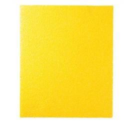 50 feuilles à main papier corindon jaune 230 x 280 mm Gr 40 - 10902135 - Sidamo