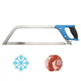 Scie manuelle de boucher à os Pro avec lame Inox L. 450 x 20 x pas 2,5 mm - Diamwood Platinum