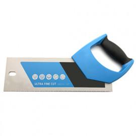 Scie à dos à tenons lame L. 300 x ép. 1 mm x pas 12 TPI et à poignée bi-matière - Spéciale coupe fine - Diamwood Platinum