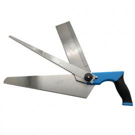 """Scie à main 3 lames interchangeables de L. 230 à 315 mm """"spécial menuisier"""" pour bois - Diamwood Platinum"""