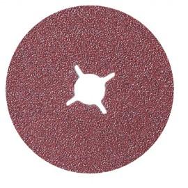 25 disques fibre corindon D.115 x 22,23 mm Gr 40 - 10920001 - Sidamo
