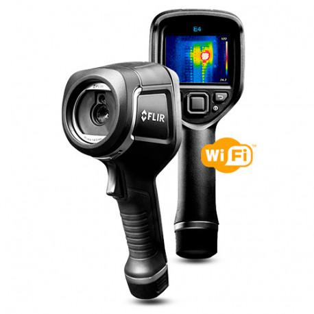 Caméra thermique série E4 Wifi avec image IR 4800 pixels et plage de -20° à +250°C - 60416 - Flir