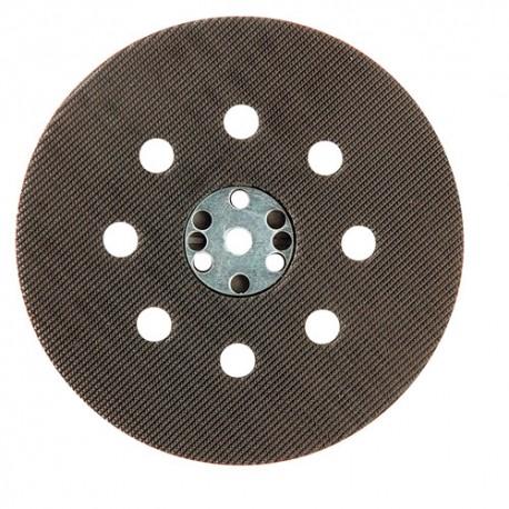 Plateau support auto-agrippant pour disques perforés D.115 mm pour ponceuse - 10998030 - Sidamo