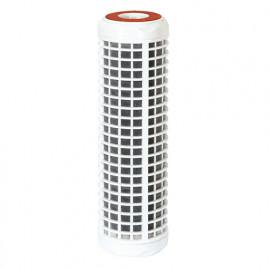 """Cartouche filtrante CFA lavable 50 microns + CCA charbons actifs 93/4"""" 5"""