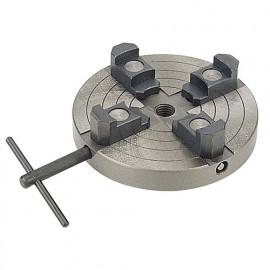 Mandrin pour tour à bois 4 mors independants D. 10 à 140 mm - filetage 25,4 mm x 8TPI