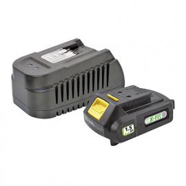 Batterie 1,5 Ah et chargeur rapide - Pour plate forme X-FIT