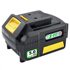 Batterie Li-Ion 18 V 5,0 Ah - Pour plate forme X-FIT