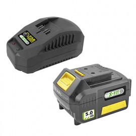Batterie Li-Ion 18 V 5,0 Ah et chargeur XF-KIT 50