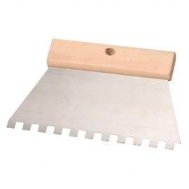 """Couteau à colle 200 mm Denture """"U"""" 6 x 6 mm - 11200014 - Sidamo"""