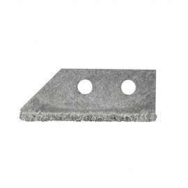 3 lames 50 x 20 mm pour grattoir à déjointoyer - 11200101 - Sidamo
