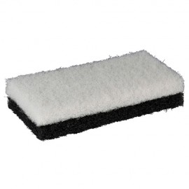 2 tampons abrasifs 250 x 120 x 25 mm pour platoir - 11200193 - Sidamo