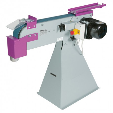 Ponceuse à bande 2000 x 75 mm BG 753 - 400V 2200W - 20105028 - Sidamo