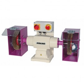 Touret à polir 142 D. 200 mm - 400V 750W - 20113016 - Sidamo
