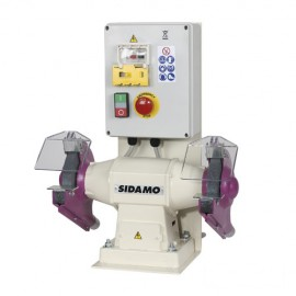 Touret à meuler avec frein 119 FR D. 150 mm - 400V 550W - 20113036 - Sidamo