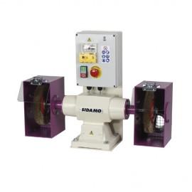 Touret à polir avec frein 142 FR D. 200 mm - 400V 750W - 20113037 - Sidamo