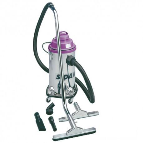 Aspirateur eau et poussières cuve inox JET 30 - 30 L - 230V 1200W - 20402008 - Sidamo