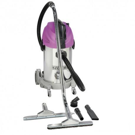 Aspirateur eau et poussières cuve inox JET 30 i Synchro - 35 L - 230V 1450W - 20402042 - Sidamo
