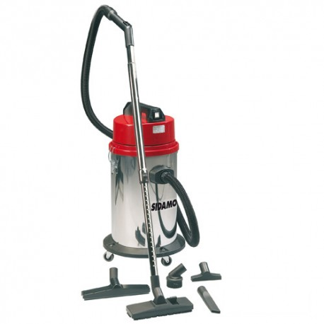 Aspirateur eau et poussières cuve inox MC 30 i - 35 L - 230V 1000W - 20403005 - Sidamo