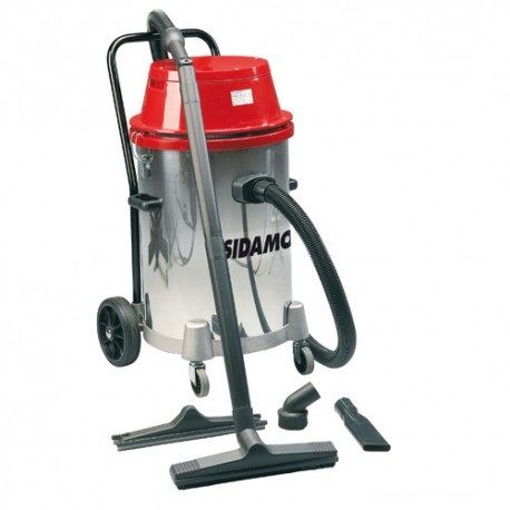 Aspirateur eau et poussières cuve inox MC 55 i - 55 L - 230V 2x 1000W - 20403006 - Sidamo