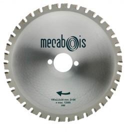 Lame carbure MAXIMETAUX D. 160 x 2,2 x 16 mm Z 30 dents plates - Aciers/Profilés/Panneaux sandwich - 280256 - Sidamo