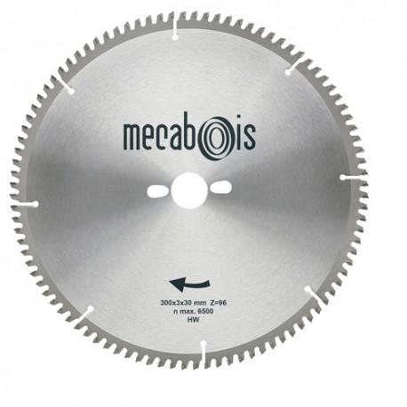 Lame carbure NE3 D. 250 x 3 x 30 mm Z 80 TP Nég. - Alu/Zinc/Cuivre/Nickel/Plastique - 290192 - Sidamo