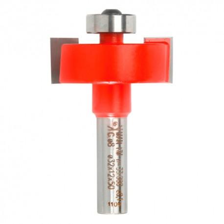 Mèche à feuillure Q. 8 x D. 32 x Lt. 55 mm + Guide à billes - 640015 - Sidamo