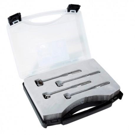 Coffret de 4 mèches 3D Hss D.15-18-20-25 mm - 694248 - Sidamo
