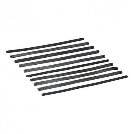 10 lames pour scie à métaux Junior 150 mm - SW37 - Silverline