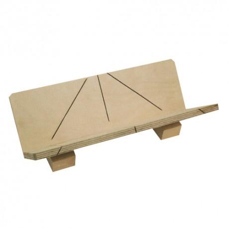Boîte à onglet Corniche 250 x 57 x 35 mm 545 - UR-4054500 - Urko