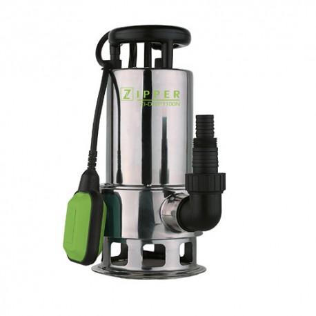 Pompe à eau chargée immergée 15 M3 électrique 1100 W ZI-DWP1100N - Zipper