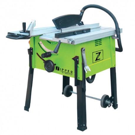 Scie sur table D.315 mm électrique 2000 W avec chariot ZI-FKS315 - Zipper
