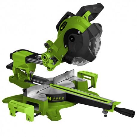 Scie à onglet radiale D.216 mm électrique 1800 W ZI-KGS216-310 - Zipper