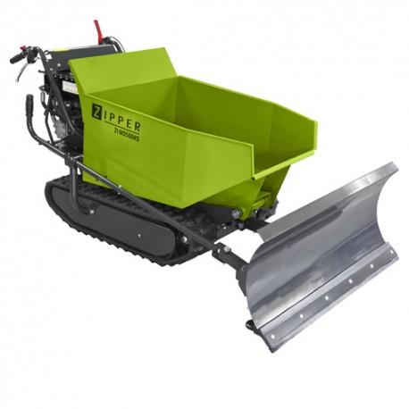 Mini dumper à chenilles thermique 270 cm3 avec benne L. 1000 mm ZI-MD500HS - Zipper