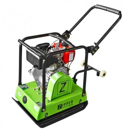 Plaque vibrante thermique diesel L. 620 mm 2800 W ZI-RPE120DY - Zipper