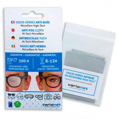 Essuie-Verres anti-buée pour lunettes en microfibre high-tech